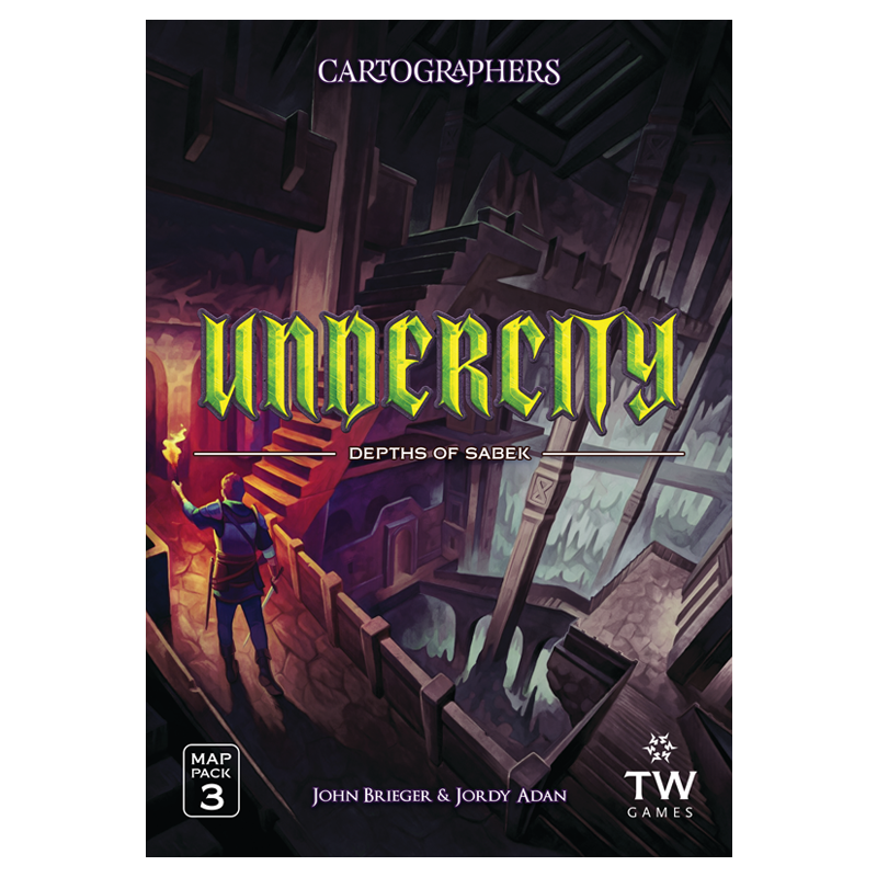 Cartographers Map Pack 3 - Undercity (Pre-Order)