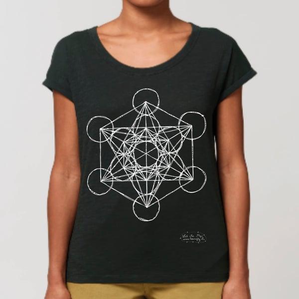 Image of T-shirt Femme Coton Bio *Metatron*