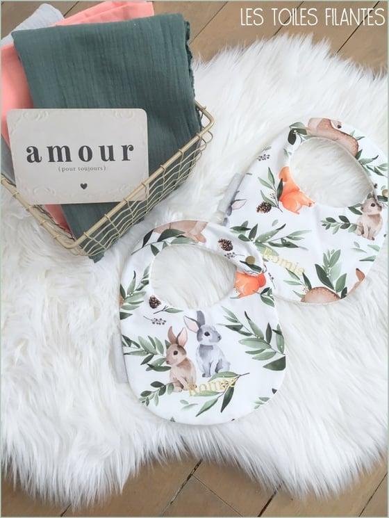 Image of Sur commande: bavoir pour bébé