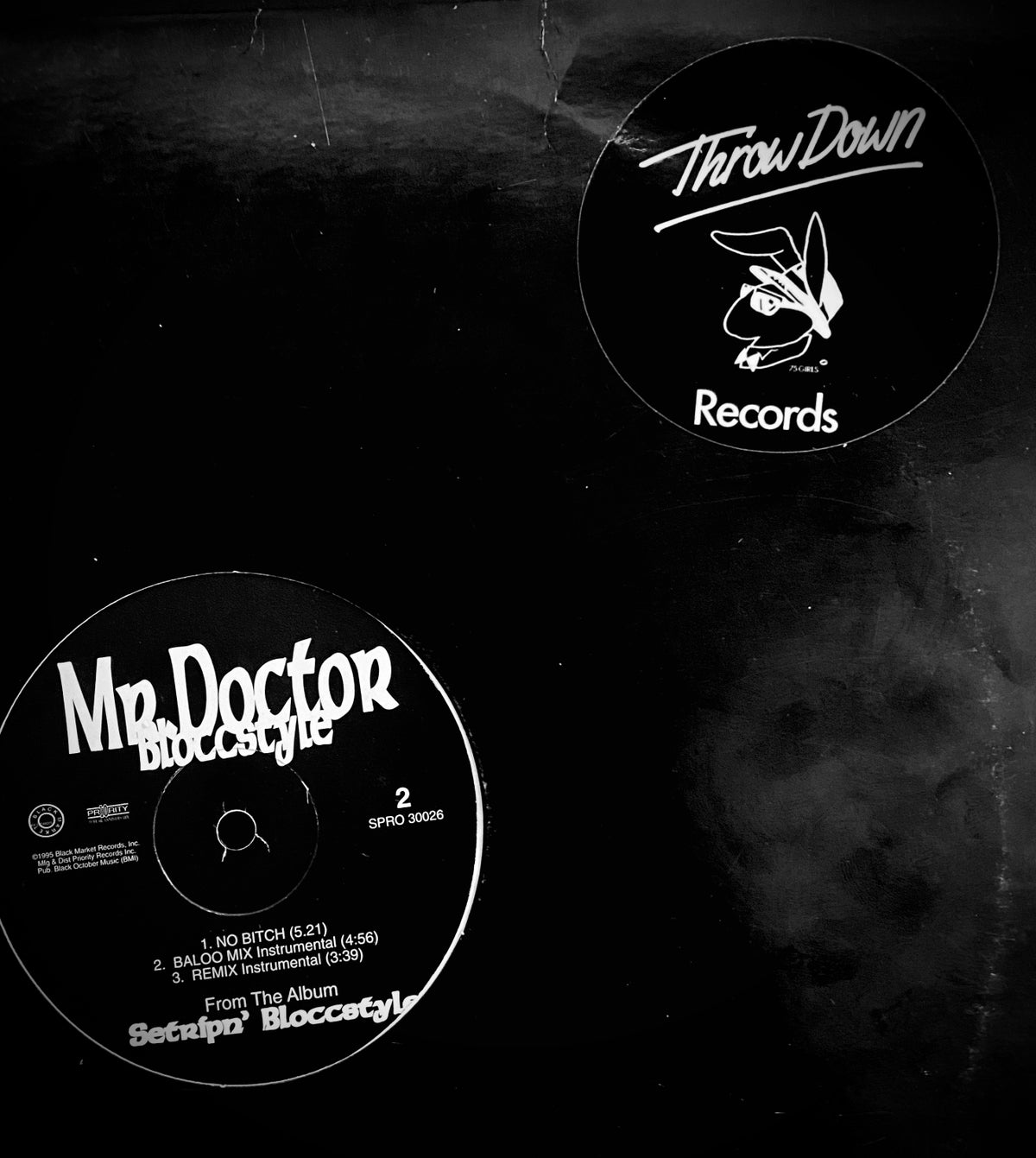 """Image of MR. Doctor """"Setrip'n Bloccstyle"""" 12"""" PROMO"""