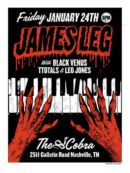 Image of JAMES LEG POSTER