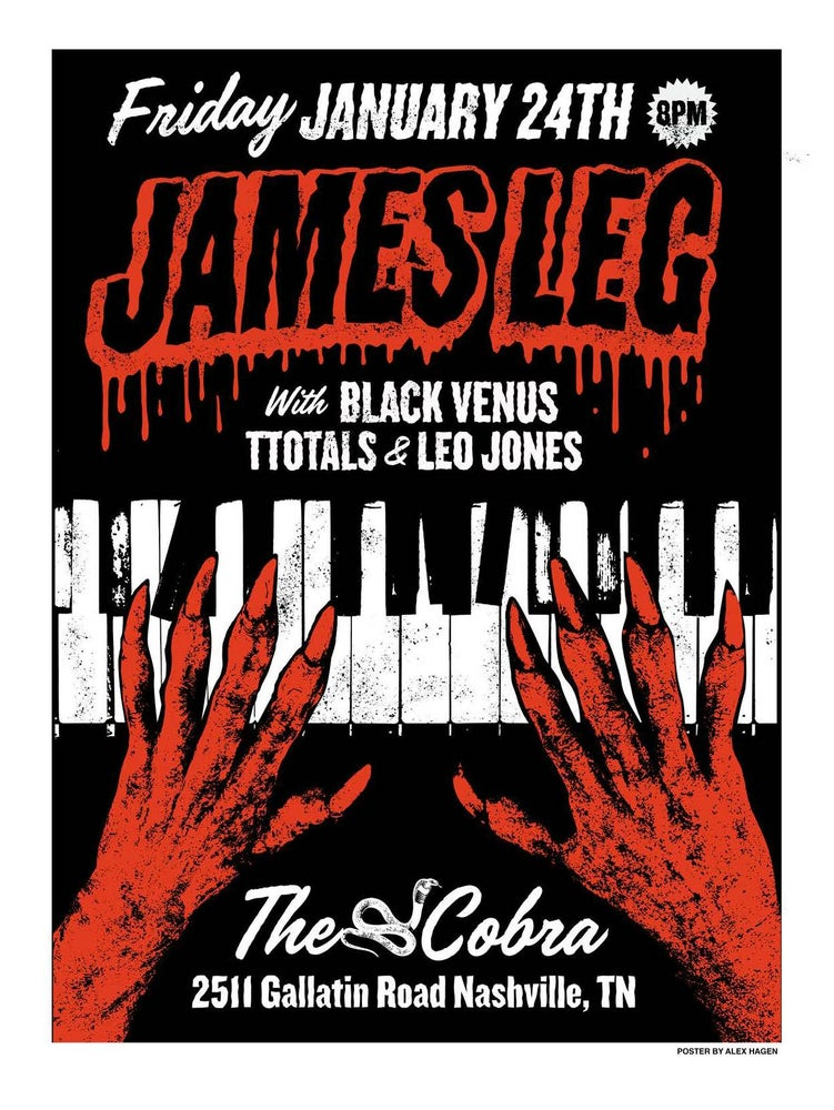 Image of JAMES LEG POSTER (3 Pack)