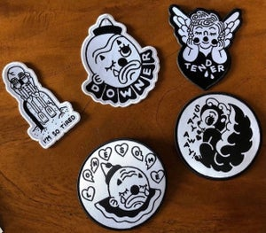Image of RR #129 Matt Darling Woven Patches