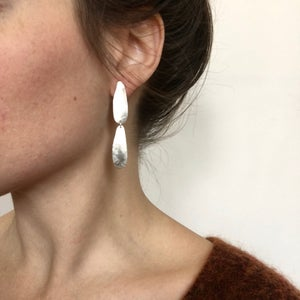 Image of siv earring