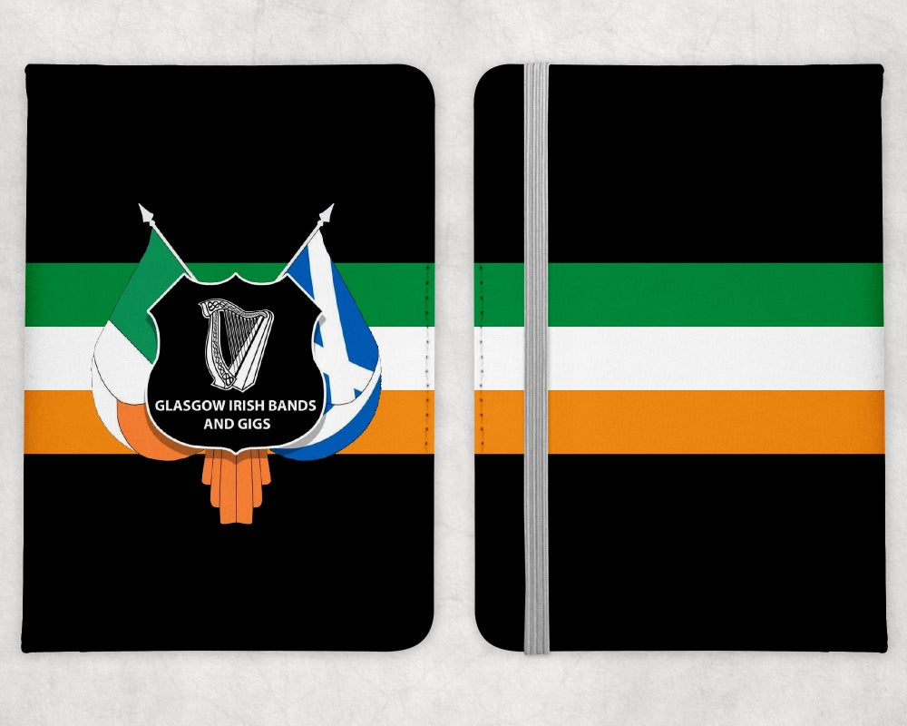 Glasgow Irish Bands & Gigs Passport Holder