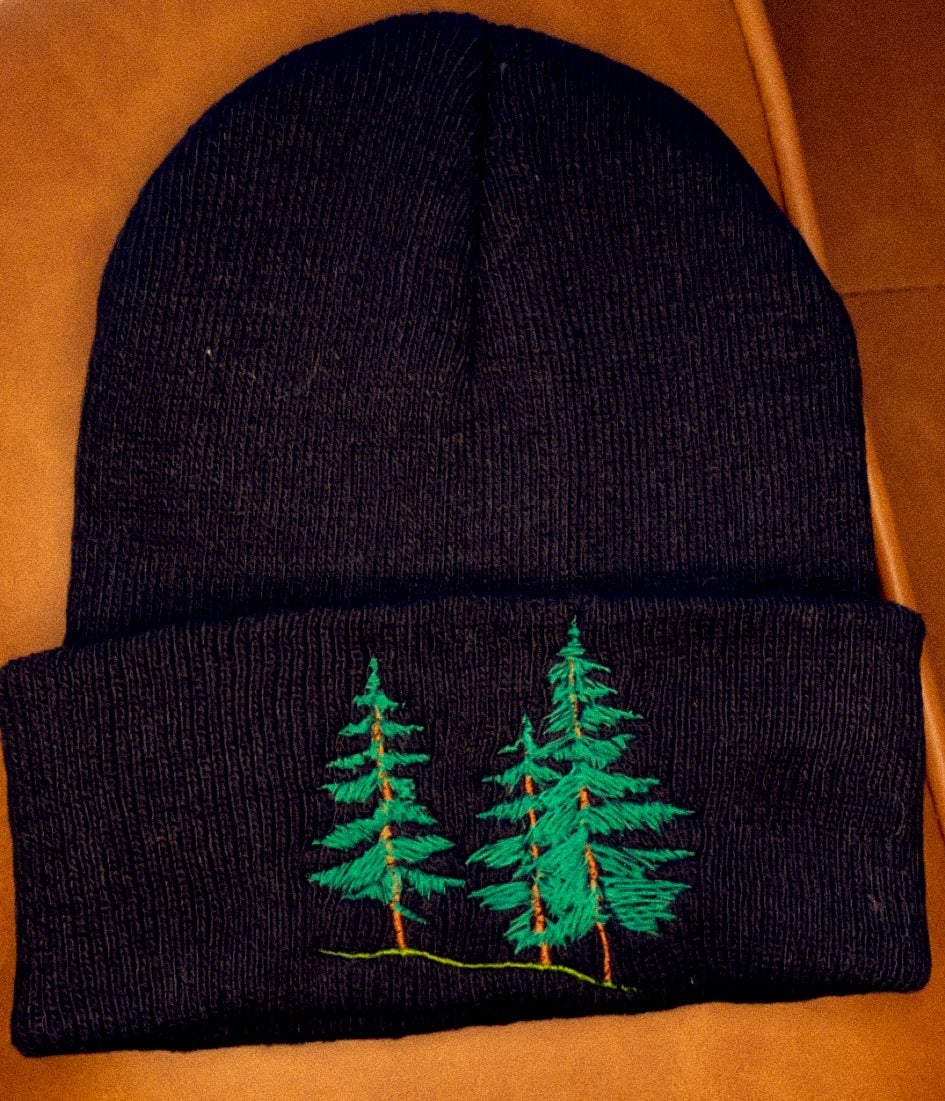 Image of forest beanie