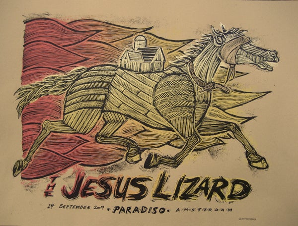 Image of The Jesus Lizard, Paridiso Amsterdam