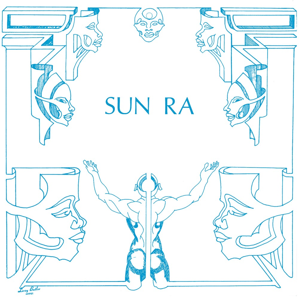 Image of Sun Ra – The Antique Blacks LP
