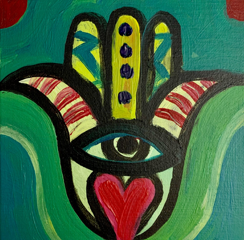Image of Hamsa Heart & Shine