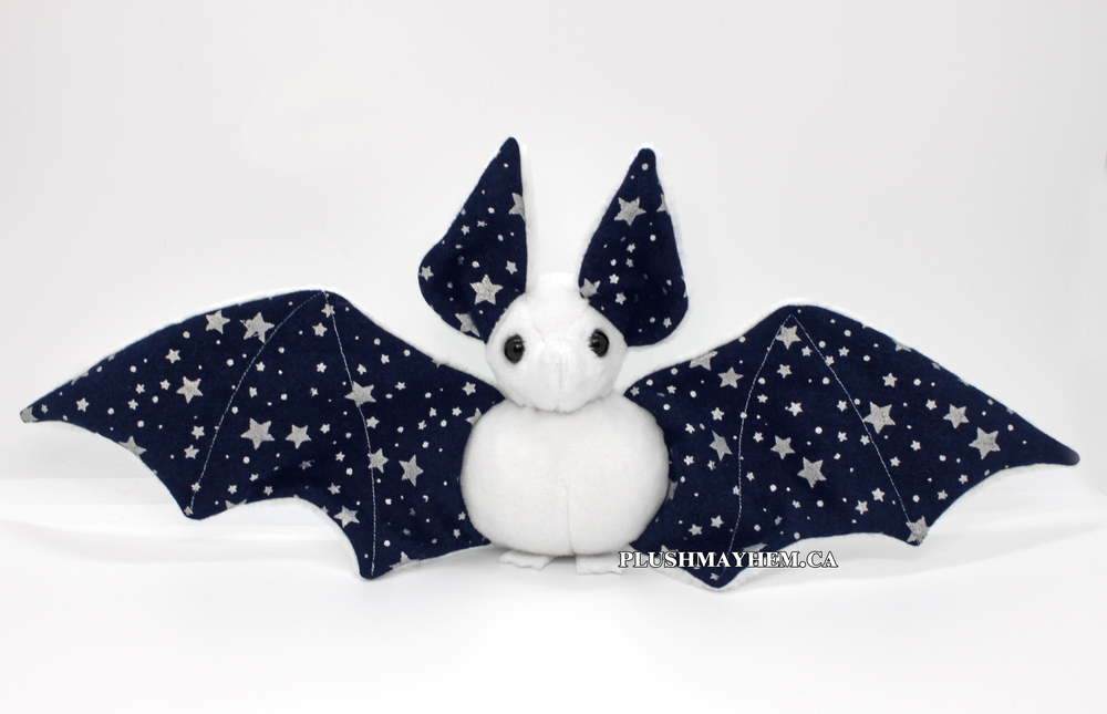 Image of White Midnight Bat - Ready to Ship