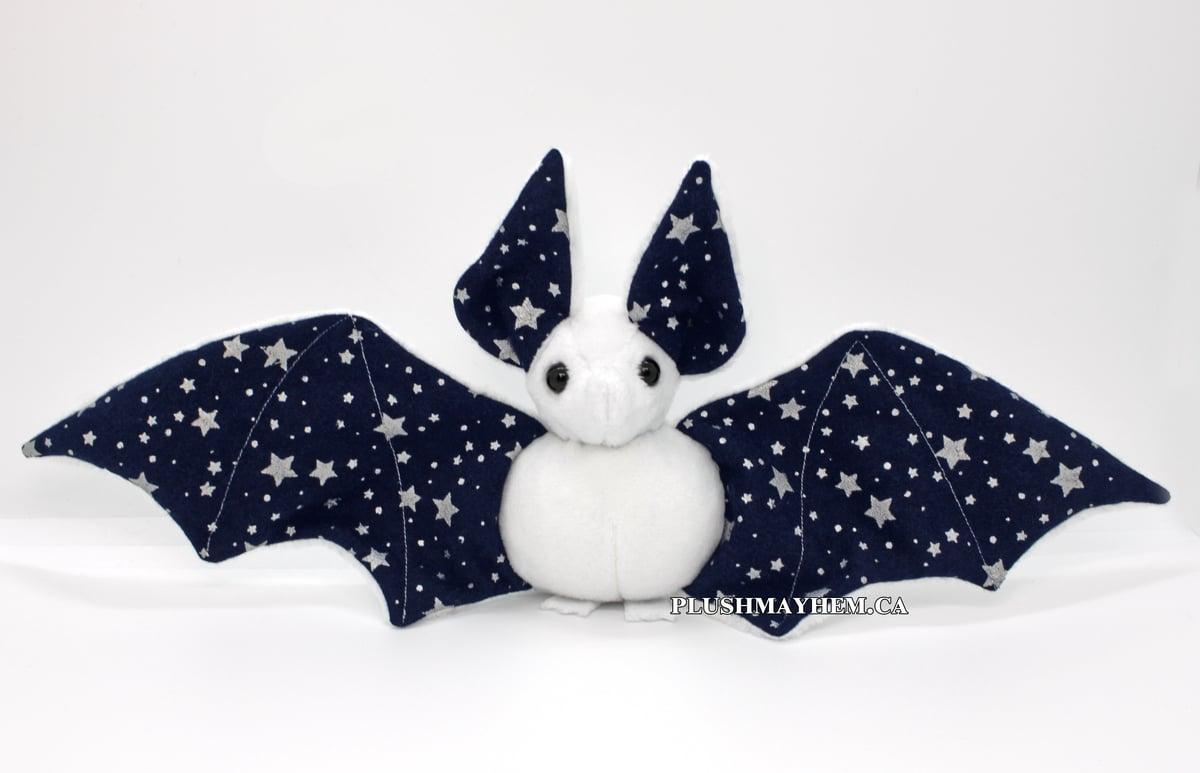 Image of White Midnight Bat - Ready to Ship