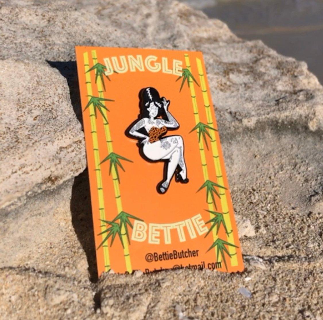 Jungle Bettie Ltd Ed pins