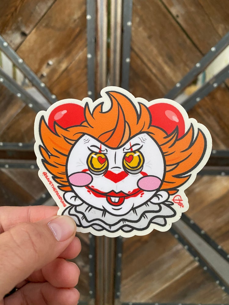 """Image of Pennywise 4"""" Sticker"""