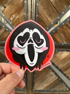 "Image of Ghosty 4"" Sticker"