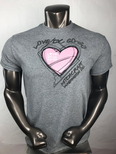 Image of Love DC GoGo - Pink Storm T-shirt