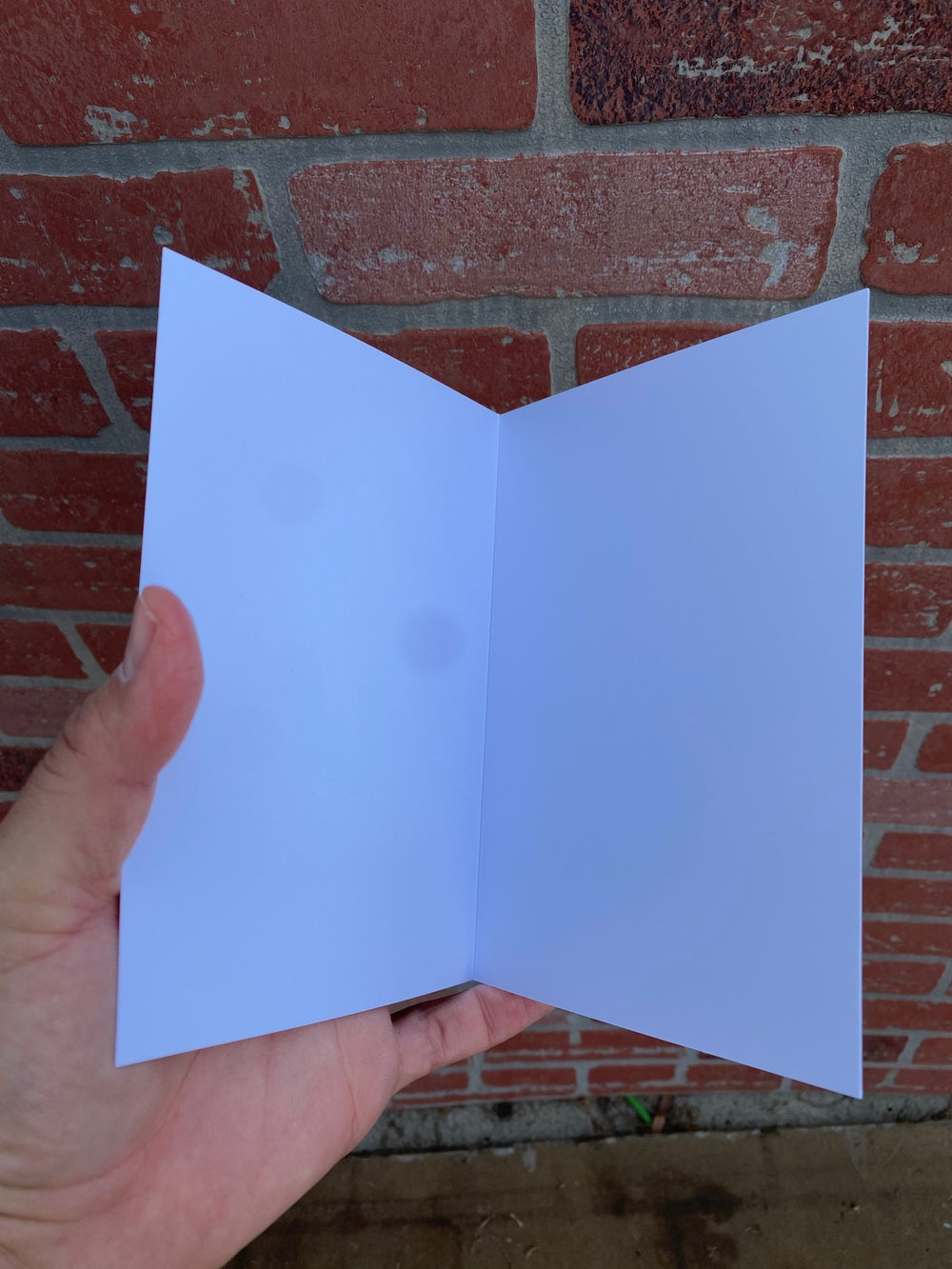 Ghosty Valloween Card