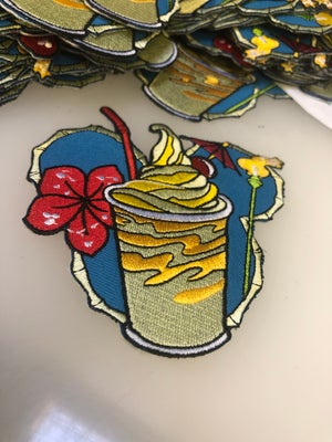 """Image of 4"""" Dole Whip 1st Edition (Teal Variant) Patch"""