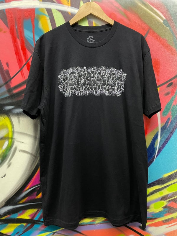 Image of Cushy 10 Year Shirt  Blk/Wht/Silver