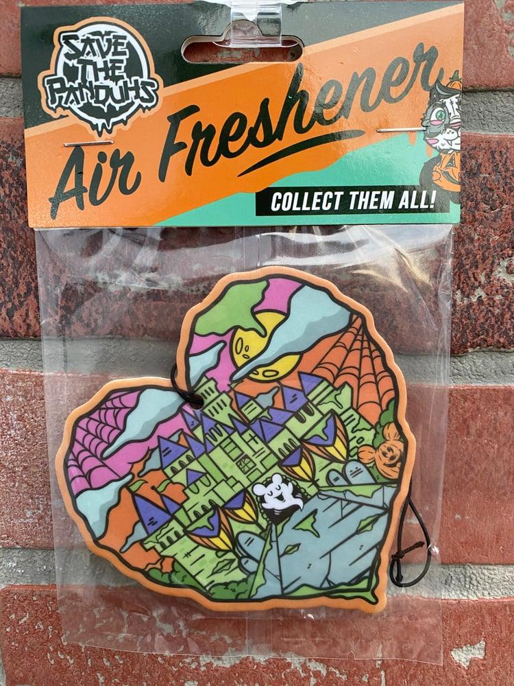 Image of Halloween Castle Love Air Fresheners