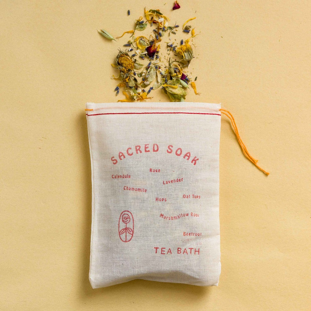 "Image of ""Sacred Soak"" Tea Bath"