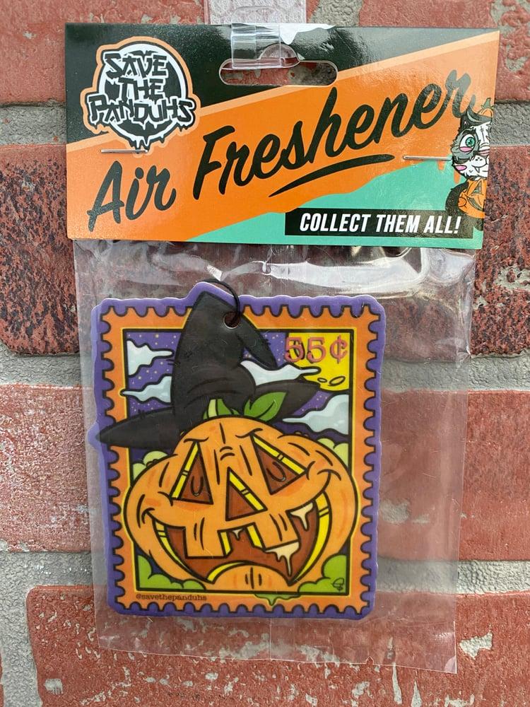 Image of Pumpkin Stamp Air Freshener