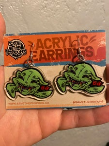 "Image of Oogie 2"" Acrylic Earrings"