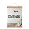 THE AMAZING ALFREDO commemorative poster