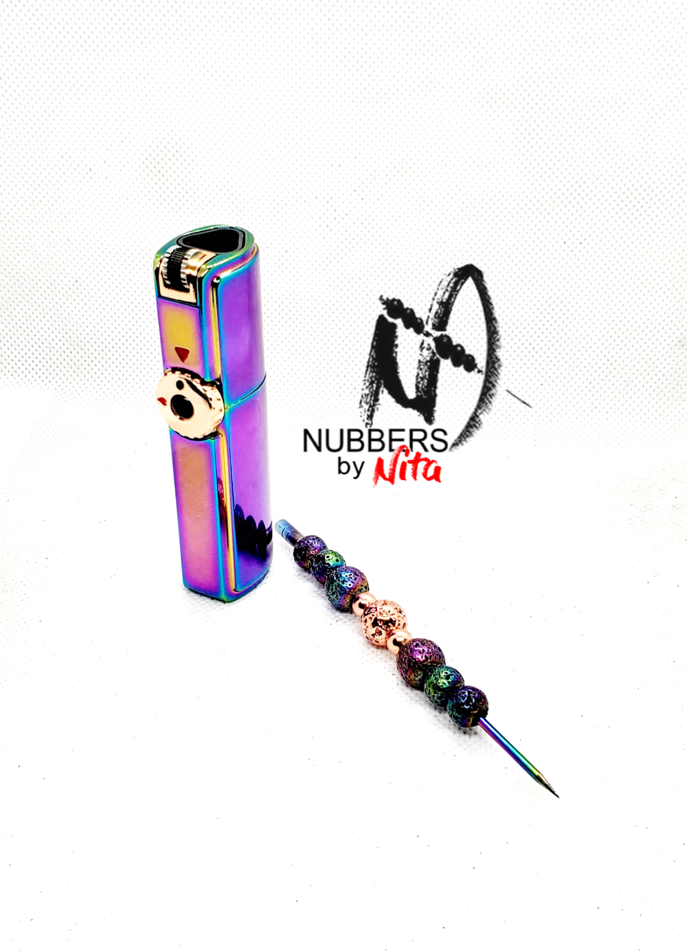 Image of Unicorn torch and nubber set