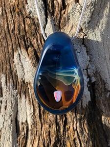 Image of Twilight Blue Tumbled Opal