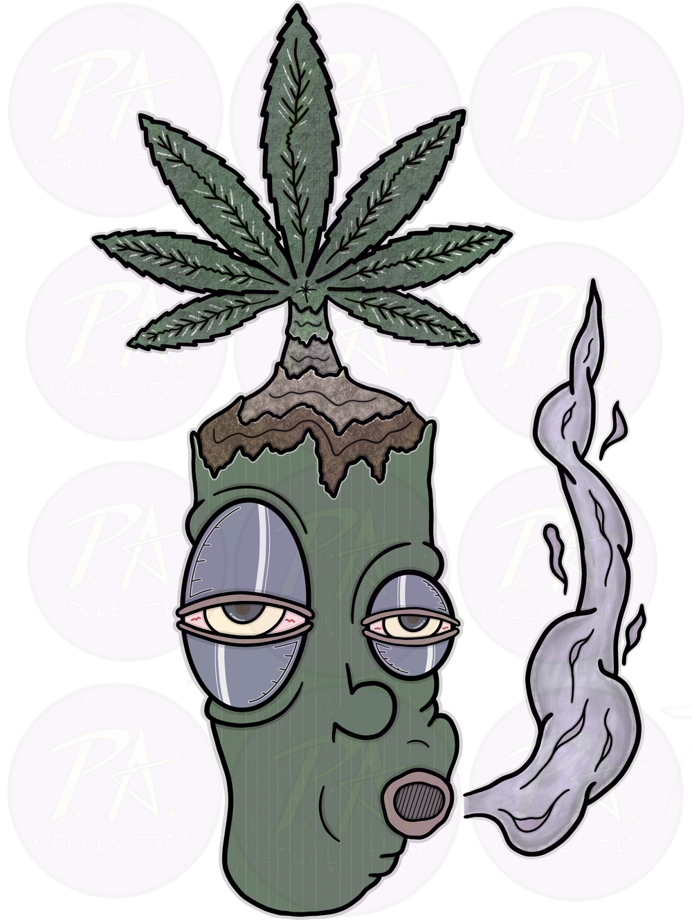 Image of Weed Head (Graphic Artwork)