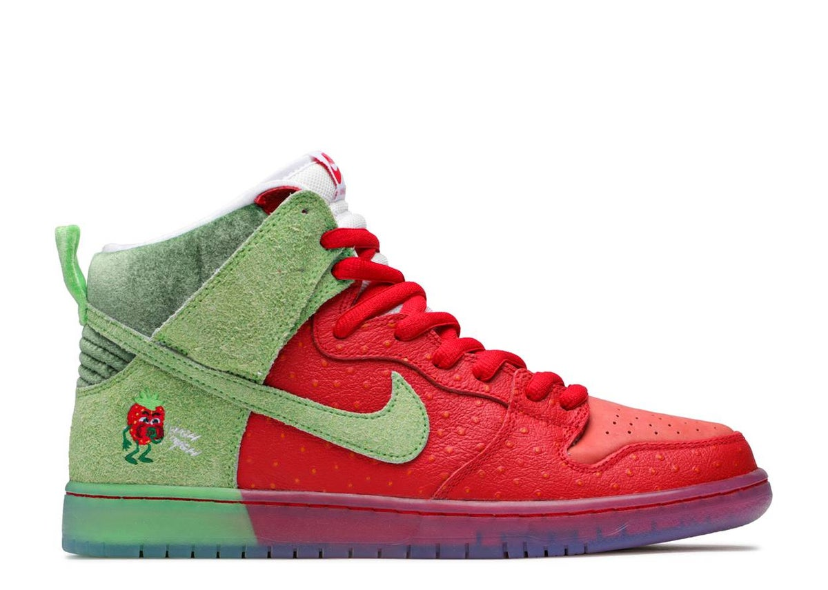 Image of DUNK HIGH SB 'STRAWBERRY COUGH'