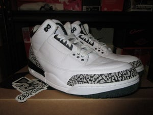 "Image of Air Jordan III (3) Retro ""Pit Crew/White"" *PRE-OWNED*"