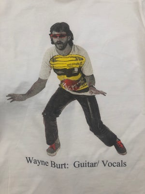 Image of Wayne Burt: Guitar/ Vocals