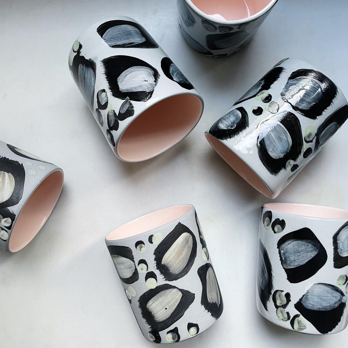 Image of Leopard - latte // grey&powder