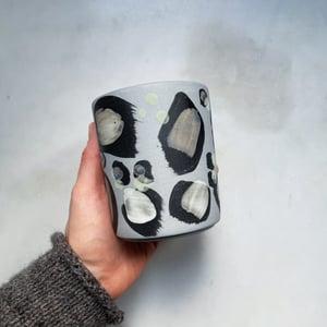 Image of Leopard - latte / grey&powder // PREORDER