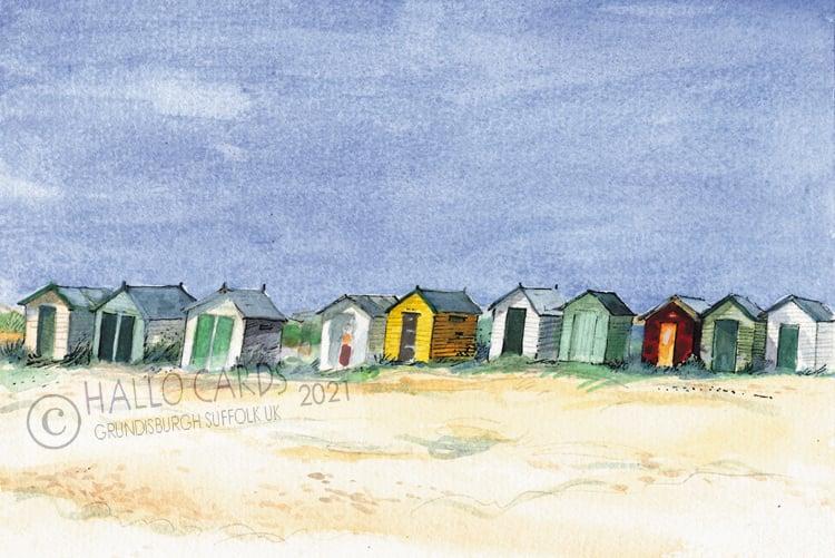 Image of Beach Huts Southwold - Suffolk