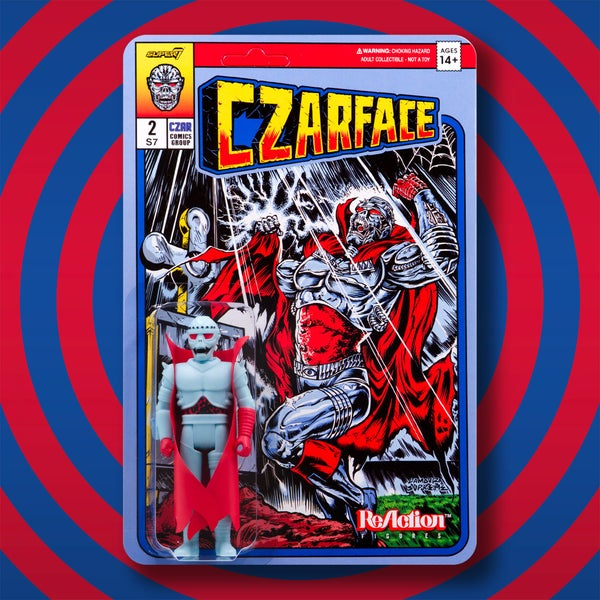 Image of Czarface 3 3/4-Inch ReAction Figure - RECOLOR - Ship Soon