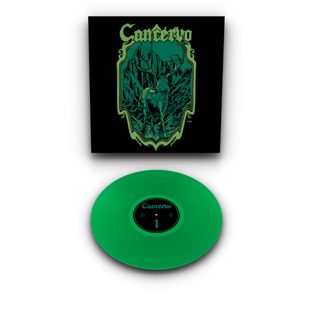 Image of Cancervo - 1 LTD Green Vinyl