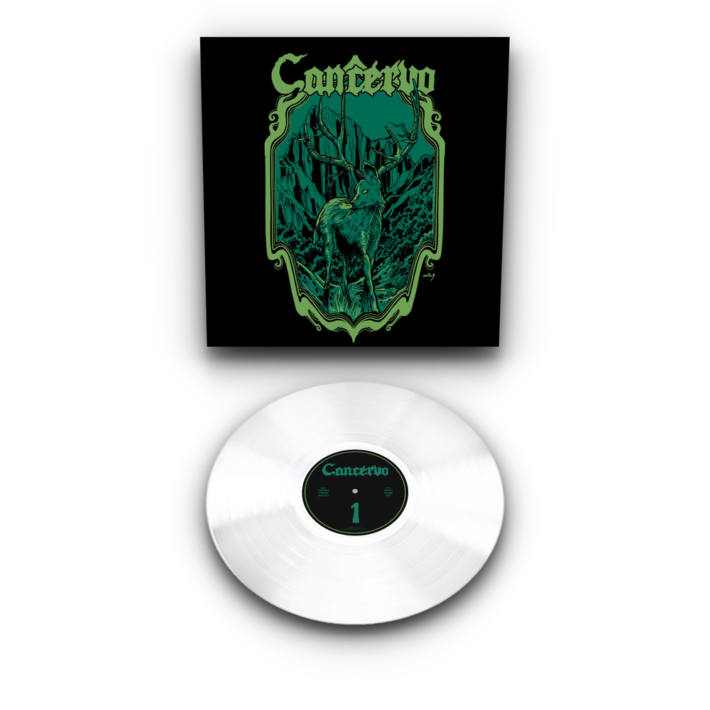 Image of Cancervo - 1  LTD Transparent Vinyl