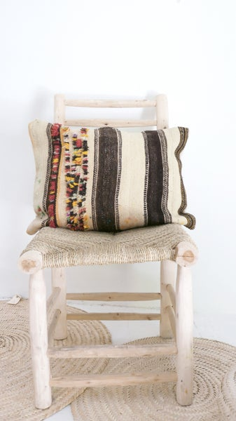 Image of Moroccan Vintage Cushion - SHADOUI Kilim