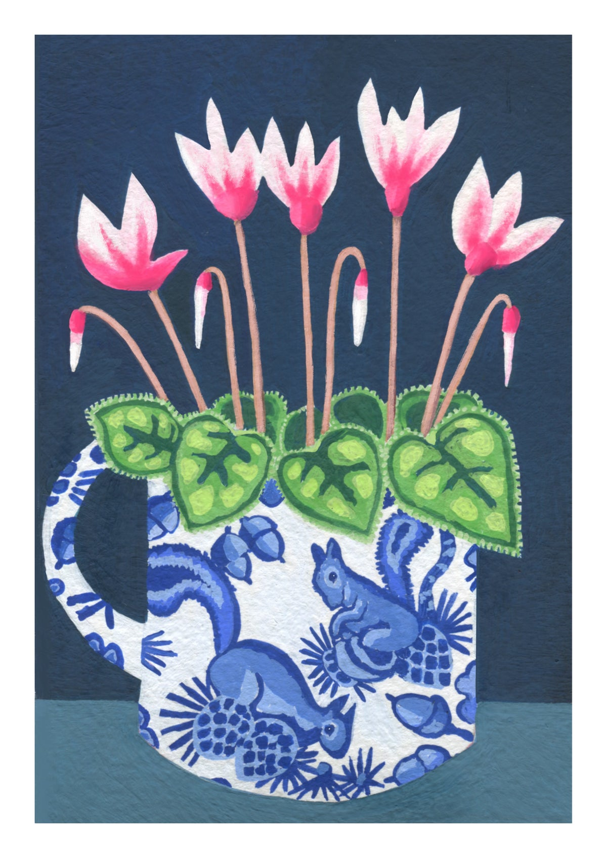Vintage Florals Print