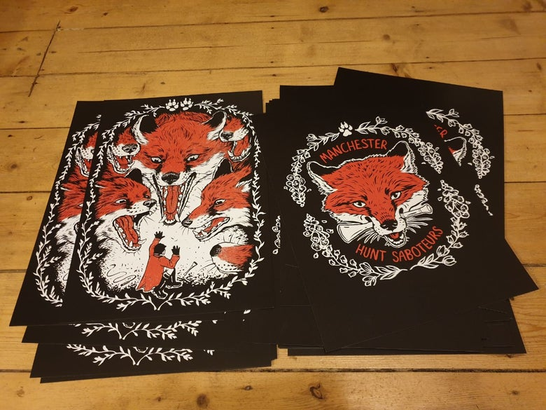 Image of A3 Heavyweight Art Prints (set of two)