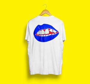 EUT T-shirt mouth white