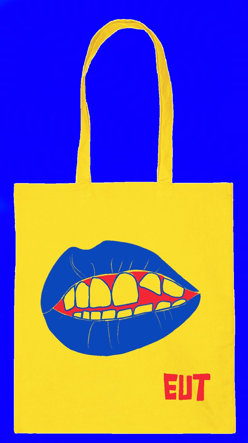EUT mouth tote bag