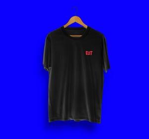 EUT T-shirt mouth black