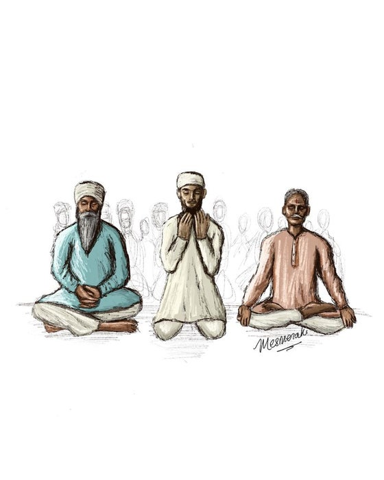 Image of Brothers in Prayer