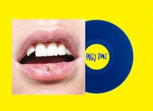 """Party Time 12"""" blue vinyl"""