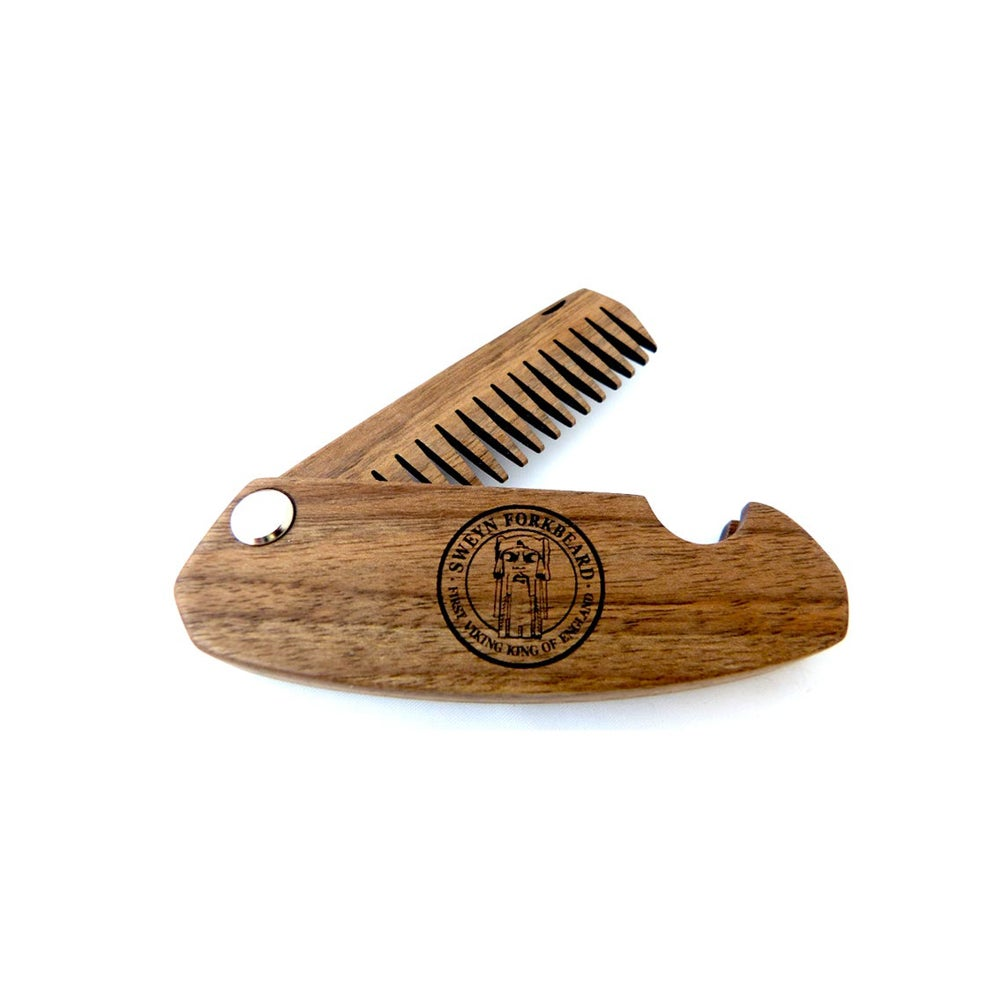 Image of Wooden Folding Comb Sweyn Forkbeard