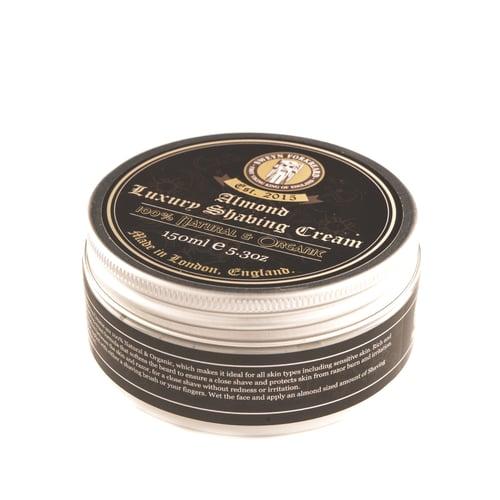Image of Luxury Shaving Cream Almond 150ml / 5.3oz