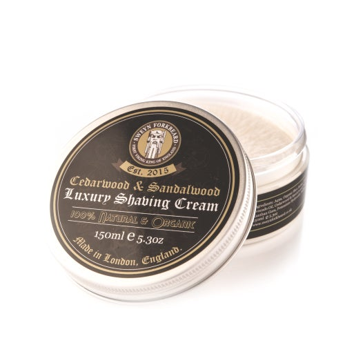 Image of Luxury Shaving Cream Cedarwood & Sandalwood 150ml / 5.3oz
